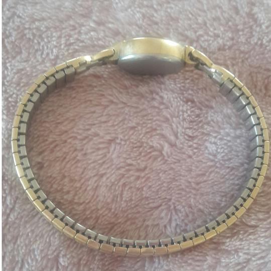 Wittnauer Wittnauer Vintage Womens Stretch 10K Gold and Stainless