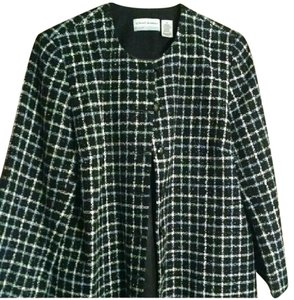 Alfred Dunner Beautiful Black Boucle Blazer