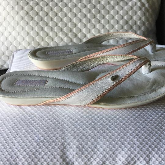 Lacoste off white Sandals
