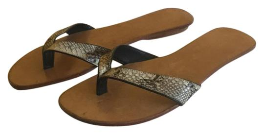 Preload https://img-static.tradesy.com/item/20730370/taupe-brown-snake-flip-flop-sandals-size-us-8-regular-m-b-0-1-540-540.jpg