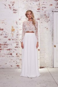 Exquisite Boho Chic Dress Separates Wedding Dress