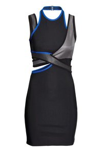 Alexander Wang Hm Scuba Cut-out Dress