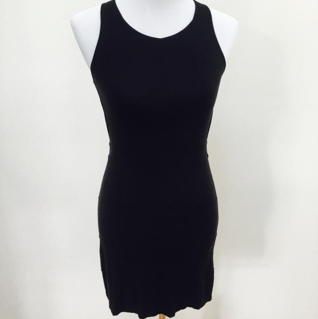 Nordstrom short dress black on Tradesy