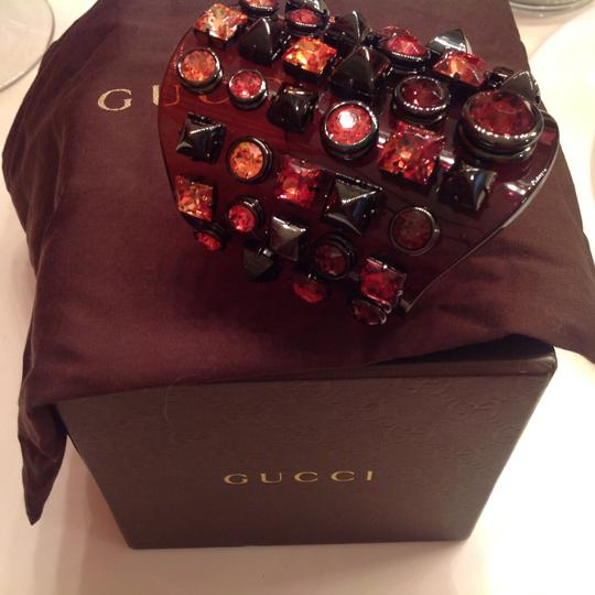 Gucci Gucci Crystal Jeweled Cuff Bracelet