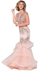 Jovani Jeweled Mermaid Prom Dress