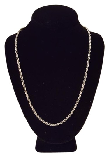 Preload https://img-static.tradesy.com/item/20730540/stainless-steel-4-mm-men-s-rope-chain-24-inches-necklace-0-4-540-540.jpg