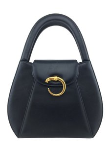 Cartier Gold Hardware Tote in Black