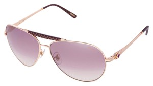 Chopard NEW Chopard Imperiale Women SCH 870 FCX Luxury Aviator Sunglasses