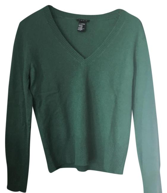 Preload https://img-static.tradesy.com/item/20730682/theory-cashmere-green-sweater-0-1-650-650.jpg