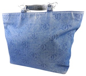 Chanel Tote in Blue Jean