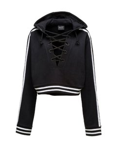 FENTY PUMA by Rihanna Lace Up Sexy Sweater
