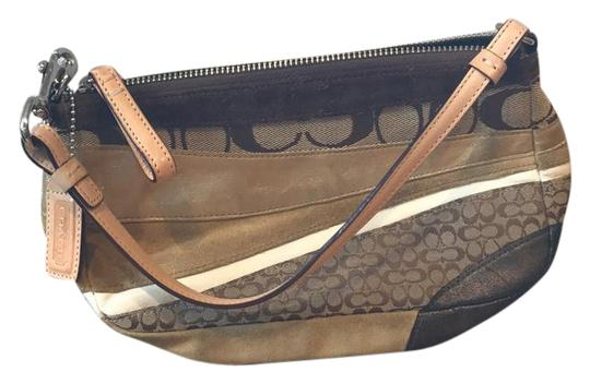 Preload https://img-static.tradesy.com/item/20730738/coach-1439-brown-and-gold-leather-suede-fabric-shoulder-bag-0-1-540-540.jpg