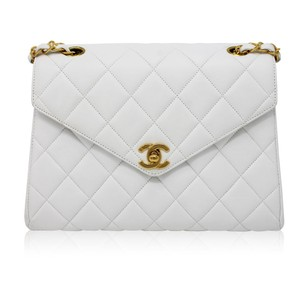 Chanel Lambskin Mini Flap Shoulder Bag