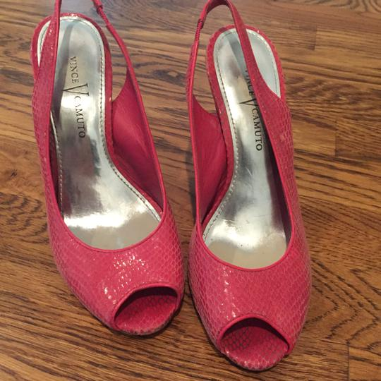 Vince Camuto Pink Wedges