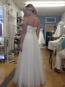 Amsale Amsale Blue Label 'calista' Wedding Dress