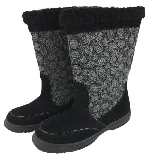 Preload https://img-static.tradesy.com/item/20730872/coach-black-sherman-signature-shearling-suede-bootsbooties-size-us-65-0-5-540-540.jpg