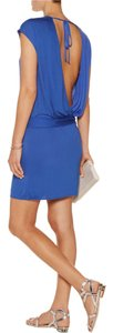 Haute Hippie short dress Cobalt on Tradesy