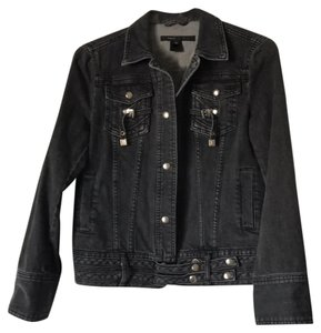 Marc Jacobs Charcoal Womens Jean Jacket