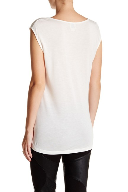 Haute Hippie Off White I T Shirt swan