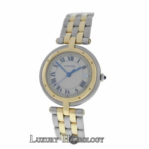 Cartier Lady's Cartier Panthere 183964 Vendome Cougar 2 Row 18K Gold 30mm