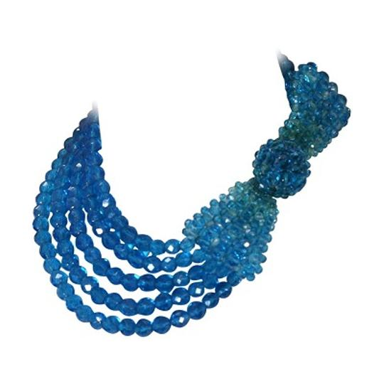 Preload https://img-static.tradesy.com/item/20731210/vintage-blue-crystal-bow-necklace-0-0-540-540.jpg
