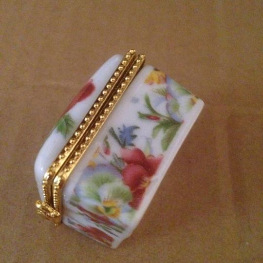 Multicolor Bogo Small Floral Porcelain Jewelry Ring Box Free Shipping