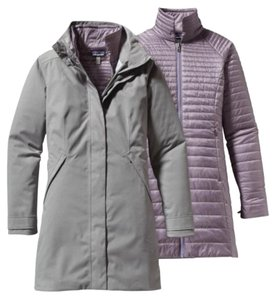 Patagonia Vosque 3-in-1 Parka Grey Jacket