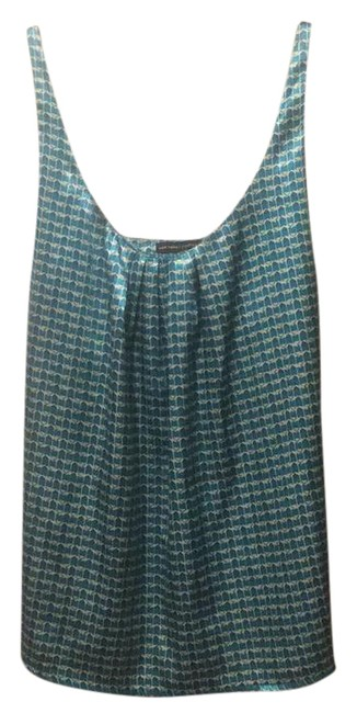 Preload https://img-static.tradesy.com/item/20731304/new-york-and-company-teal-geometric-silky-tank-topcami-size-6-s-0-1-650-650.jpg