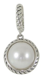 David Yurman Pearl Cable Collectible Charm Pendant