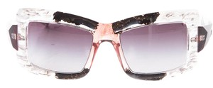 Marni Limited Edition Hand-Painted Acetate Sunglasses