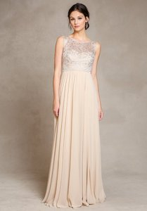 Jenny Yoo Metallic Lace With Champagne Chiffon Jenny Yoo Bridesmaid Dress Dress