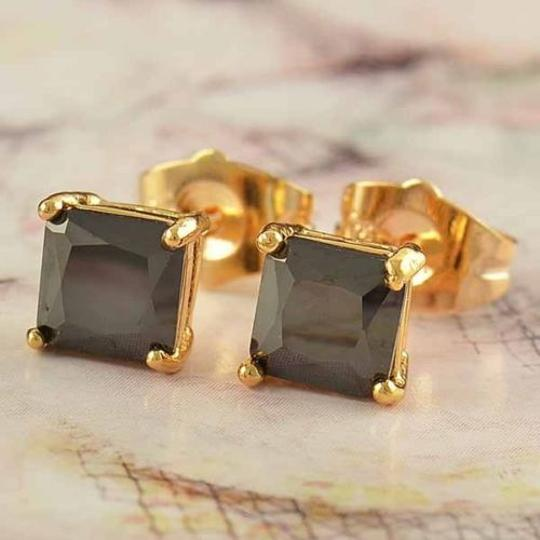 Preload https://img-static.tradesy.com/item/20731387/goldblack-bogo-9k-filled-zircon-unisex-stud-free-shipping-earrings-0-0-540-540.jpg