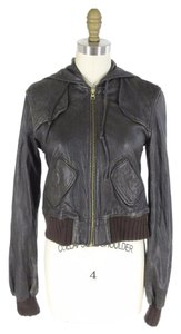 Mike & Chris Leather Moto Classic Motorcycle Jacket