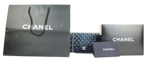Chanel Medium Double Navy Boy Jumbo Shoulder Bag