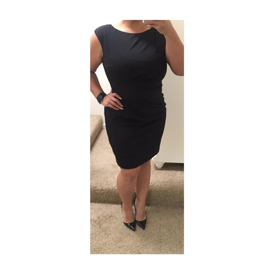 dfb45c89720f Saks Fifth Avenue Black Short Work Office Dress Size 10 (M) - Tradesy