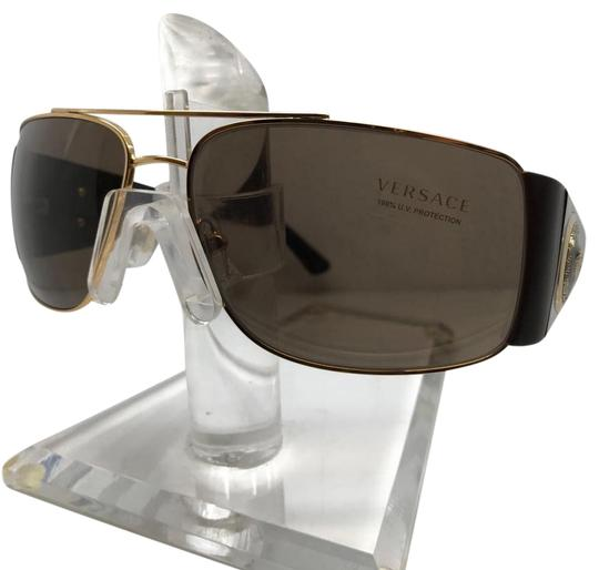 Preload https://img-static.tradesy.com/item/20731520/versace-brown-gold-sun-sunglasses-0-1-540-540.jpg