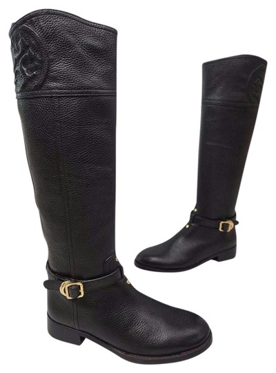 Preload https://img-static.tradesy.com/item/20731531/tory-burch-black-marlene-riding-zipper-leather-bootsbooties-size-us-5-regular-m-b-0-1-540-540.jpg
