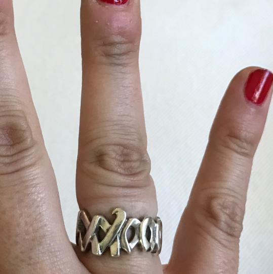 Tiffany & Co. Authentic Sterling Silver Tiffany & Co Paloma Picasso XO ring