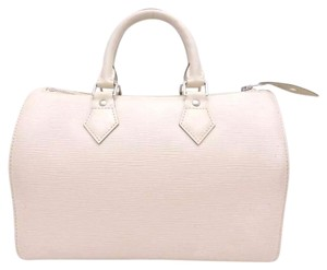 Louis Vuitton Satchel in White/ivory