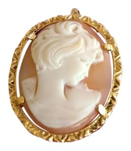 Other 14K Vintage Cameo Pin