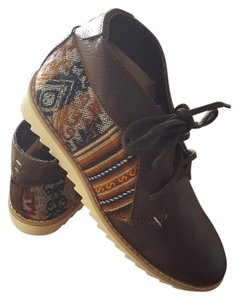 Inkas Bohemian Eclectic New World Leather Brown Boots