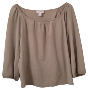 Ann Taylor LOFT Top light olive