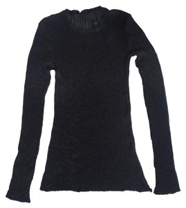 Proenza Schouler Ribbed Long Sleeve Nwt Scoop Neck New Sweater