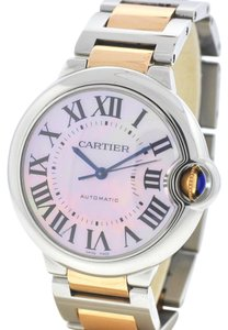 Cartier Cartier 3284 Ballon Bleu Two tone Stainless steel 18k Rose Gold Watch