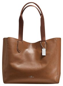 Coach 58660 Sold Out Valentine's Day Tote in Saddle Brown