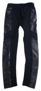 Rag & Bone Faux Leather Skinny Pants Black Leggings