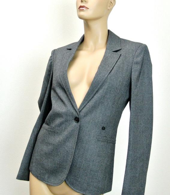 Gucci Wool Jacket Interlocing Gray Blazer