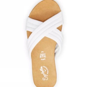 Seychelles White Sandals