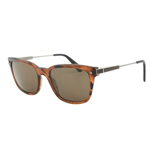 Lanvin New Lanvin SLN663 Clear Havana Brown Rectangular Wayfarer Sunglasses