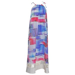Anthropologie Sonora Small Multicolor Long Dress